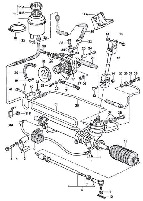 electric power steering 1994 porsche 968 spare parts catalogs buy porsche 968 1992 95 power steering pipes hoses radiators design 911