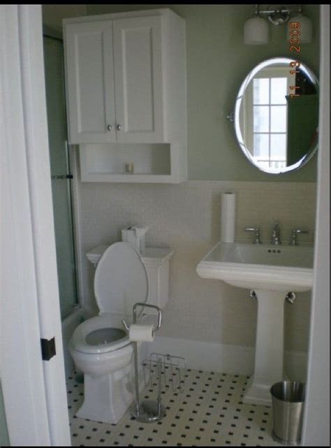 pedestal sink cabinet  toliet google search small