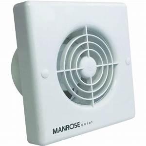 Manrose Quiet Fan Qf100 4 U0026quot