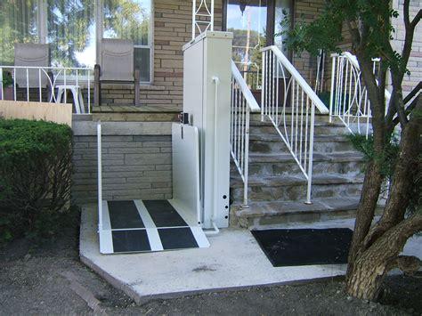 exterior front porch lift
