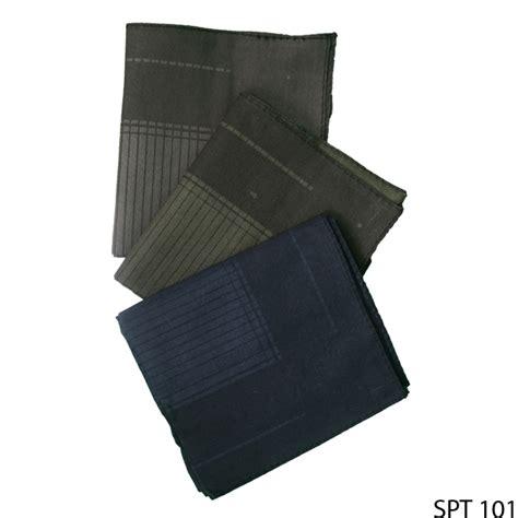 sapu tangan pria isi tiga katun multi colour spt 101 gudang fashion