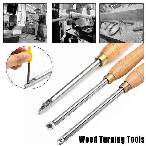 carbide tipped wood turning chisel diamond  square