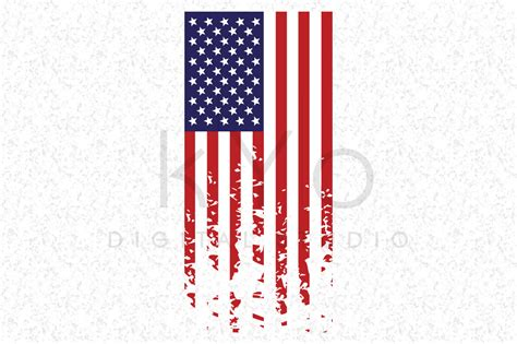 • cricut design space • brother scanncut • silhouette studio (svg only) • silhouette cameo • cricut explore these files in svg, dxf, eps, png, pdf, ai formats. Distressed American flag SVG independence day SVG ...