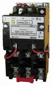 Square D 8536sco3s Size 1 Nema Rated Starter With A