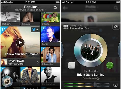 Twitter Launches New Music App For Ios And Web