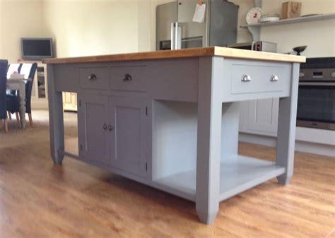 Painted Free standing Kitchen Island Unit   eBay