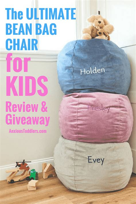 the ultimate children s bean bag chair for review