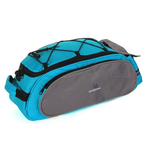 roswheel noir bleu sac sacoche etui porte bagage pannier arri 232 re pour v 233 lo