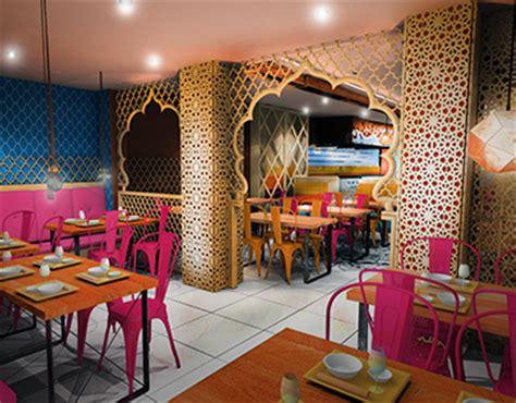 indian restaurant concept design london haringey  behance
