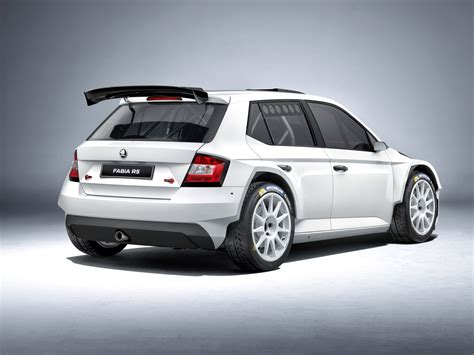 300 Hp Skoda Fabia R 5 Rally Car Unveiled Autoevolution