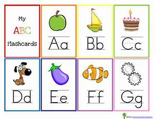 free printable alphabet flash cards for kids alphabet With letter flashcards