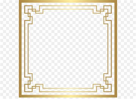 art deco clip art border deco frame png gold clip art