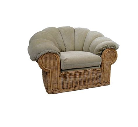 tonda chair with winter cover wicker material indoor