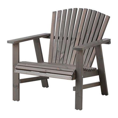 chaise en bois ikea chaise de jardin style adirondack version ikea