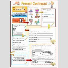 Present Continuous Completo