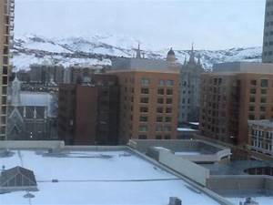View from our room - Picture of Salt Lake Marriott ...