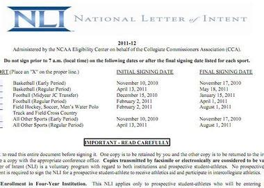 ncaa letter of intent beautiful ncaa letter of intent cover letter exles 12774