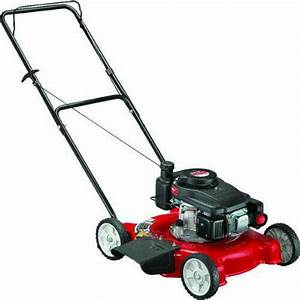 Yard Machines 140cc Gas 20 U0026quot  Side Discharge Push Mower Carb