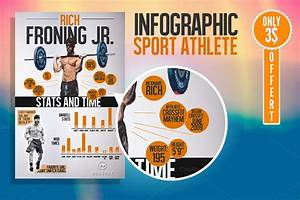 sports infographics templates - infographic sport athlete only 3 flyer templates on