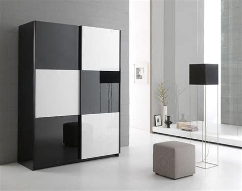 armoire de cuisine but armoire 2 portes en 148 cm laquée jazzy structure noir blanc