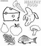 Healthy Coloring Plate Pages Drawing Sketch Getdrawings Radiokotha sketch template