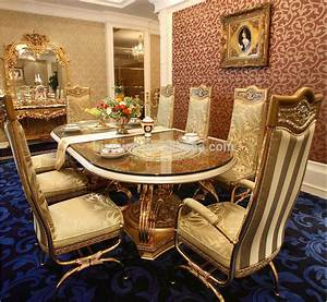 Luxury French Baroque Style Home Dining Room Sets/ Antique