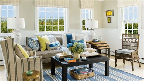 and in livingroom 40 beautiful beachy living rooms coastal living