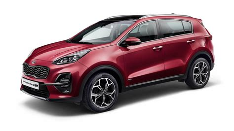 2019 Kia Sportage Facelift  Motor1com Photos