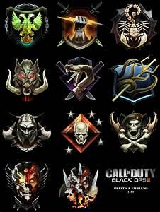 I hope the prestige emblems are colorful again : CodAW