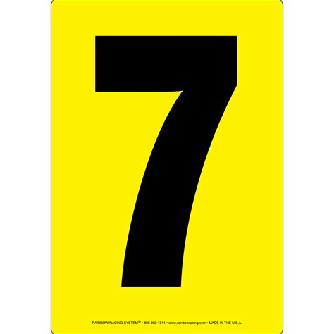 The Interesting Facts About Number Seven (7)  A 1000