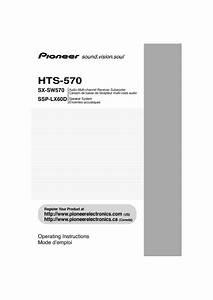 Hts-570 Manuals