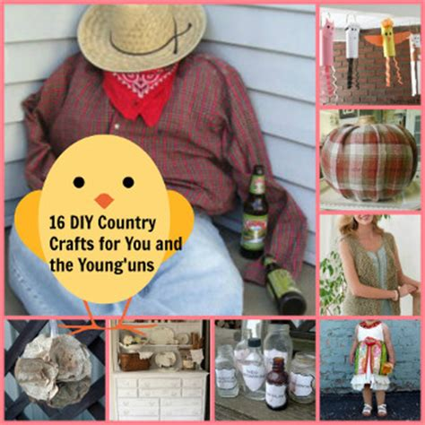 country diy crafts 16 diy country crafts for you and the young uns favecrafts