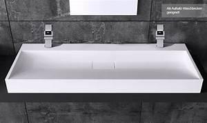 Waschbecken Selbst Montieren : design waschbecken aus gussmarmor colossum19 waschtisch waschplatz ~ Markanthonyermac.com Haus und Dekorationen