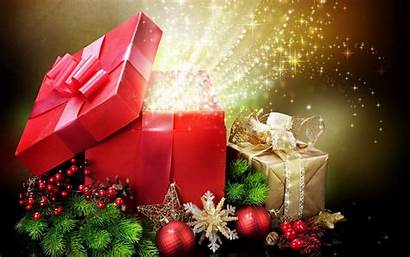 Christmas Gifts Wallpapers Nice Amazing Festival Holiday
