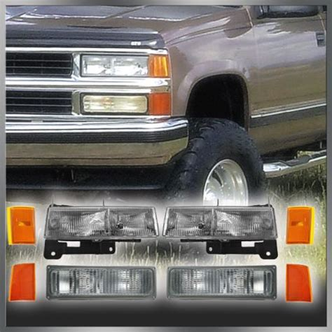 security light stays on 1998 chevy silverado freeautomechanic advice 1990 1993 chevy c1500 truck headlight corner light and parking light kit 8 piece for models
