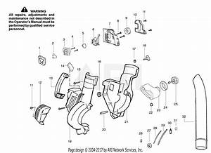Poulan B1750 Weed Eater Gas Blower Parts Diagram For Housing