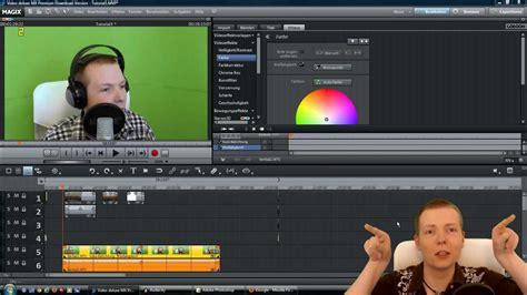 Let's Tutorial #7  Greenscreen Tutorial Für Magix Video