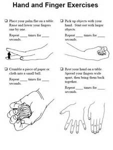 Hand Exercises Stroke Patients