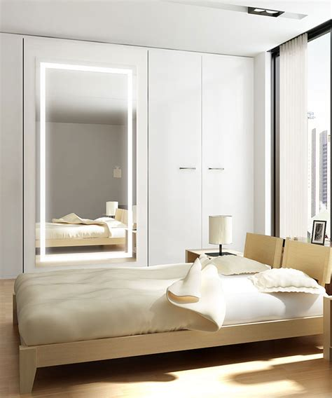 Bedroom Mirrors by Integrity Lighted Wardrobe Mirror Electric Mirror 174