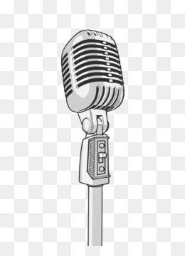 cartoon microphone png  psd   microphone