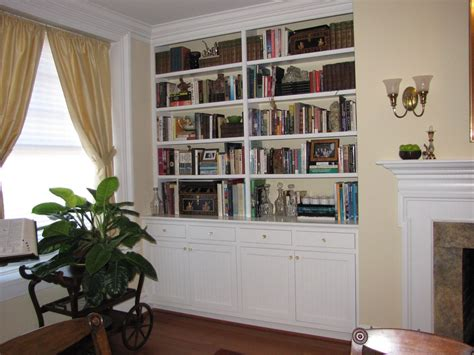 Built In Bookshelves by Handmade Built In Bookshelves By Kent Cabinetry Millwork