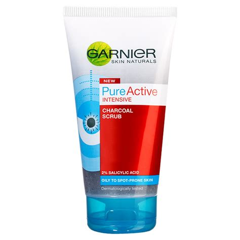 garnier pure active charcoal scrub ml  shipping