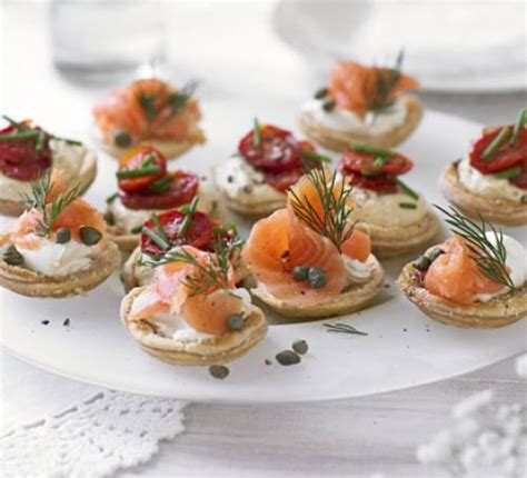 savoury canapes savoury parmesan tartlets recipe food