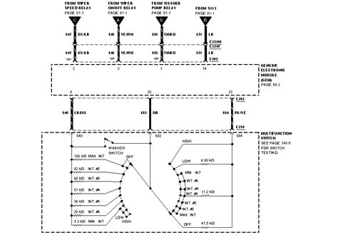 Information Headlight Wiring Diagram Chart Ford