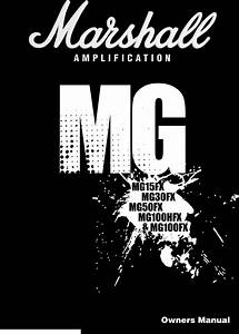 Marshall Mg100fx Owners Manual Manualslib Makes It Easy To