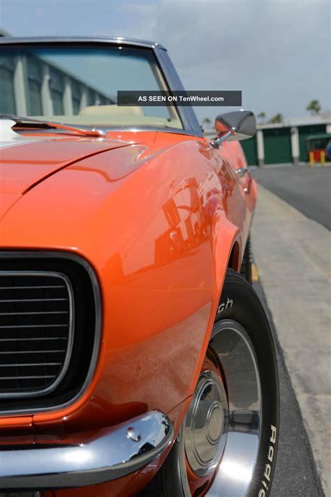 chevrolet camaro rs ss convertible resto mod