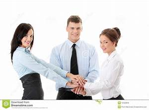 Business team cooperation stock photo Image of attractive