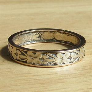 antique silver wedding ring 1900 1930 With 1900 wedding rings