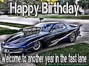 Happy birthday race car / Pro Mod