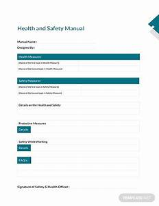 Construction Health And Safety Plan Template  Download 56